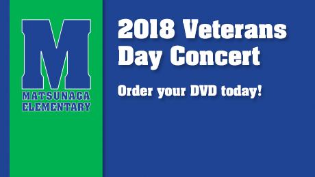 2018 Matsunaga Elementary Veterans Day Program