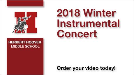2018 Herbert Hoover Winter Instrumental Concert