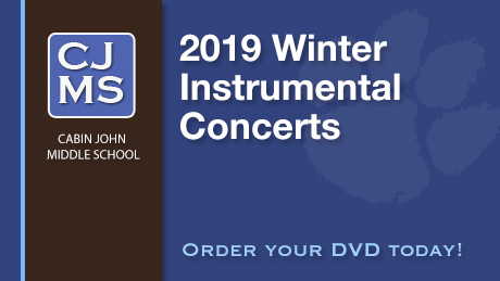 2019 Cabin John Middle School Winter Instrumental Concerts