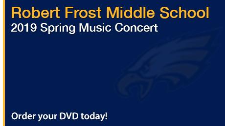 2019 Robert Frost Middle School Spring Music Concert