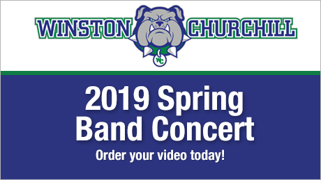 2019 Winston Churchill High School Spring Band Concert