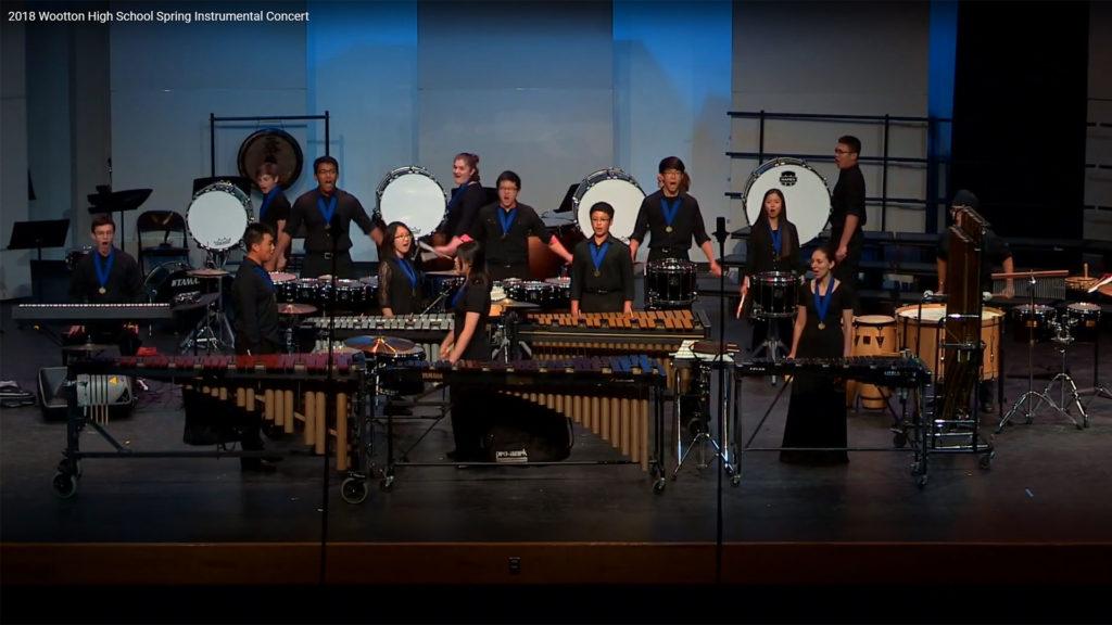2018 Wootton High School Spring Instrumental Concert